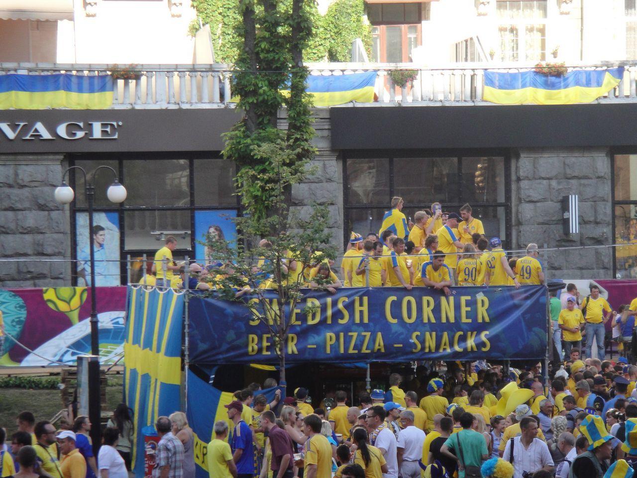 Schweden in Kiew